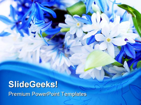 Spring Flowers Beauty Powerpoint Template