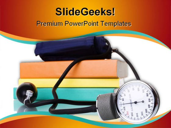 Study Medicine Medical PowerPoint Template 0810