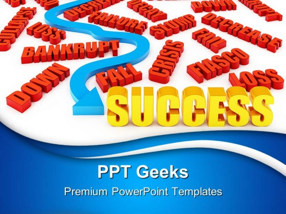 Success01 Business PowerPoint Templates And PowerPoint Backgrounds 0411