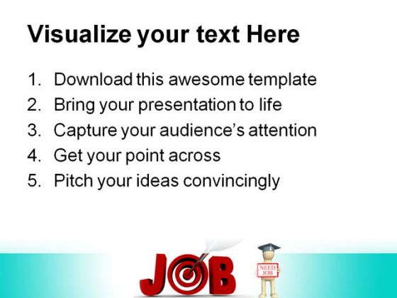 Target Job People PowerPoint Backgrounds And Templates 1210
