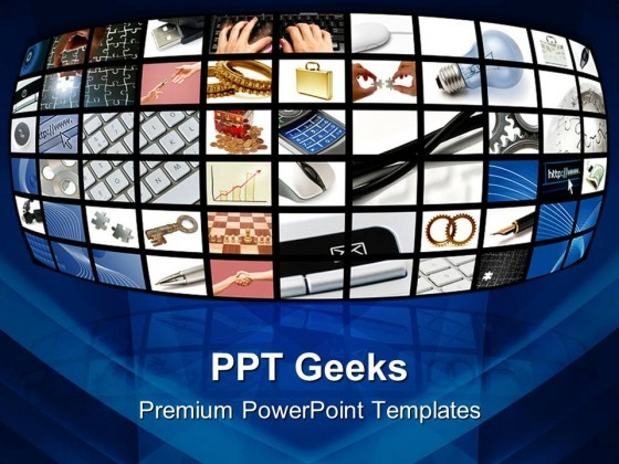 Technology Business PowerPoint Templates And PowerPoint Backgrounds 0411