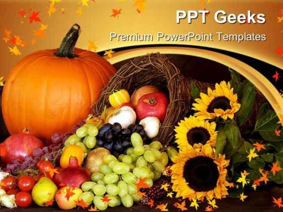 Thanks Giving Season Festival PowerPoint Templates And PowerPoint Backgrounds 0411