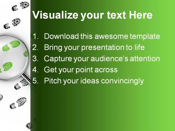 detective powerpoint background, Presentation templates