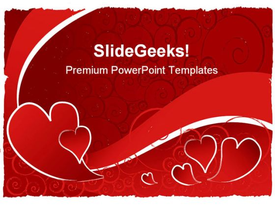 valentine powerpoint template. 30 free and low cost valentines day, Powerpoint templates