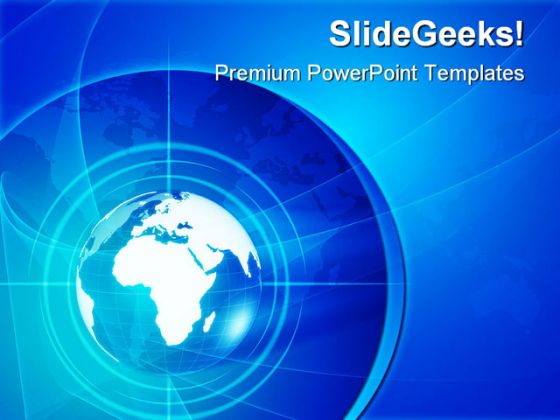 World Globe Earth PowerPoint Backgrounds And Templates 1210