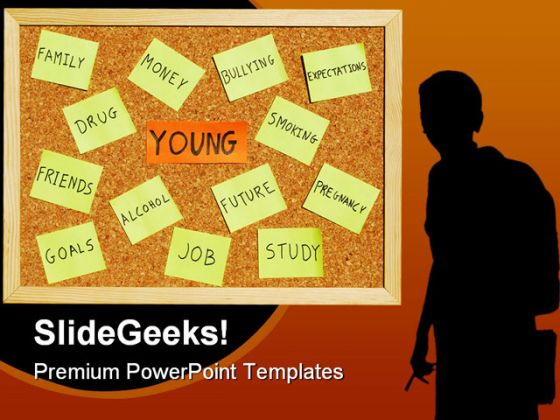 Young concerns youth powerpoint template 0910 toneelgroepblik Images