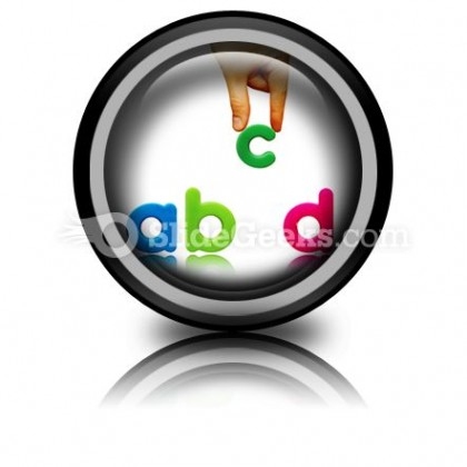 Abcd PowerPoint Icon Cc