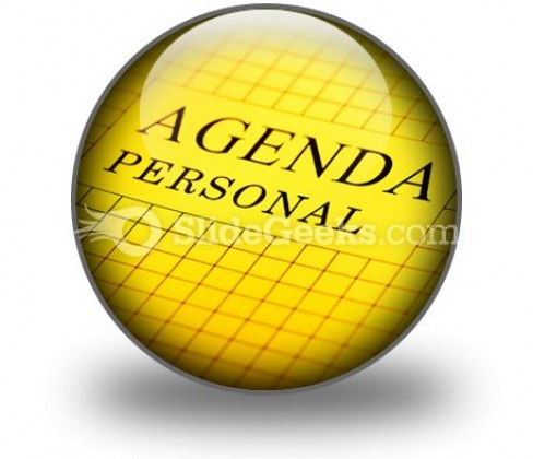 Agenda PowerPoint Icon C