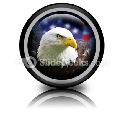 American Eagle01 PowerPoint Icon Cc