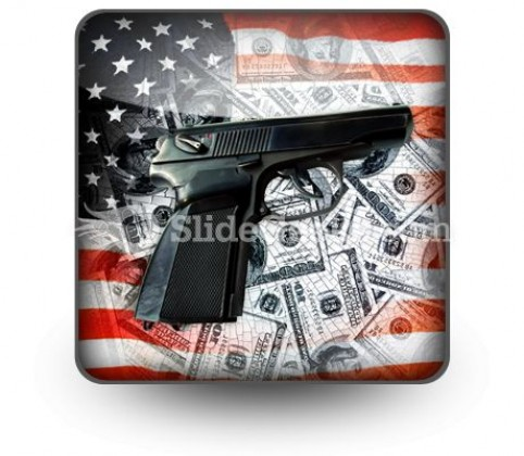 American Voilence PowerPoint Icon S