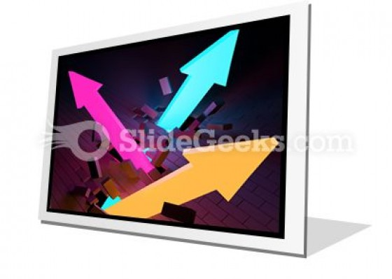 Arrows Breaking PowerPoint Icon F