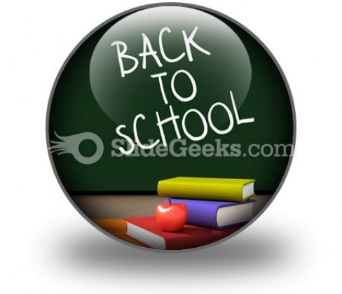 Back To School01 PowerPoint Icon C