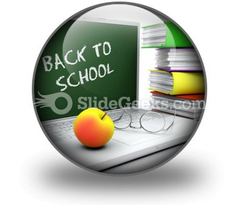 Back To School05 PowerPoint Icon C