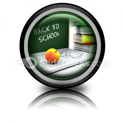 Back To School05 PowerPoint Icon Cc
