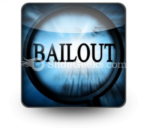 Bailout PowerPoint Icon S
