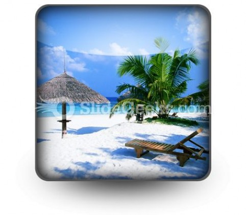 Beach02 PowerPoint Icon S