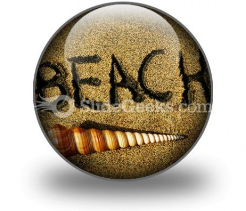 Beach PowerPoint Icon C