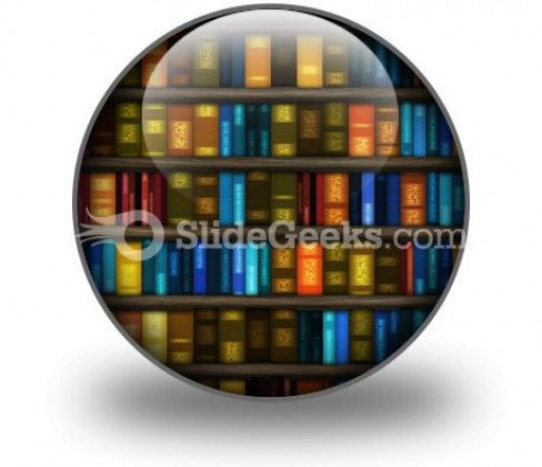 Book Case PowerPoint Icon C