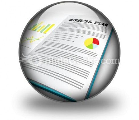 Business Plan02 PowerPoint Icon C