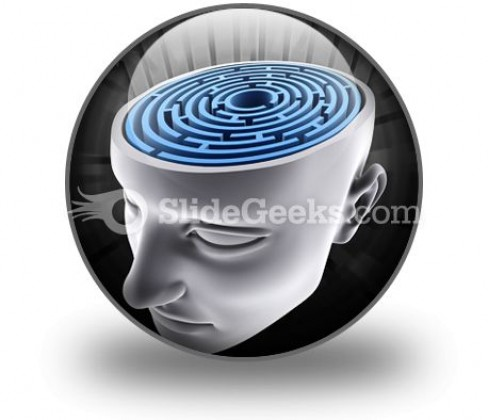 Confused Mind PowerPoint Icon C