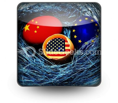 Global Economy PowerPoint Icon S