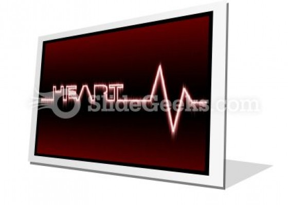 Heart Beat PowerPoint Icon F