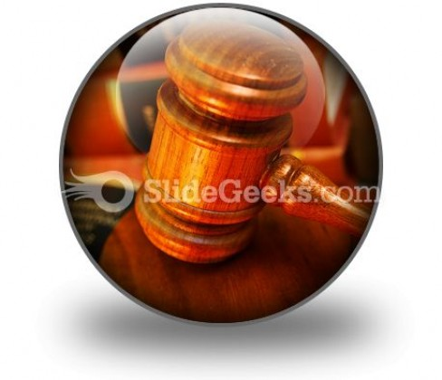 Law PowerPoint Icon C