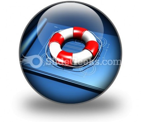 Rescue Plan PowerPoint Icon C