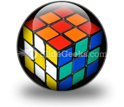 Rubix Cube Icon C